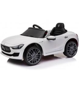 Dečiji automobil na akumulator licencirani Maserati GHIBLI 2018 beli