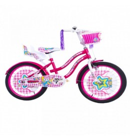 "Dečiji bicikl LILLY 20"" rozo-beli"