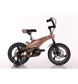 """Dečiji bicikl 16"""" model 705 Space Žuto-Zlatna"""
