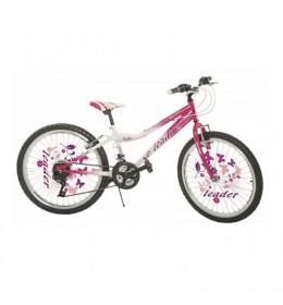 Dečiji bicikl 24in Leader Rozi