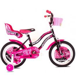 "Dečiji bicikl Adria 2016 fantasy 16"" Crna i Pink"