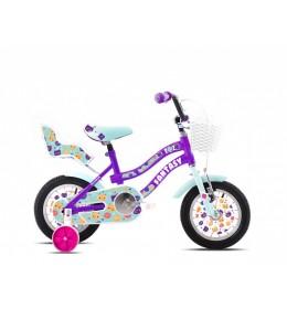 Dečiji bicikl  Adria fantasy 12 ljubičasto-tirkiz