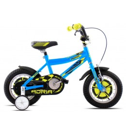 Dečiji bicikl Adria Rocker 12 plavo-žuto