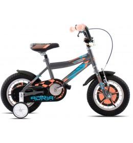 Dečiji bicikl Adria Rocker 12 sivo-oranž