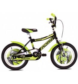 Dečiji Bicikl Adria Rocker 20 Zelena i Crna
