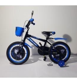 Dečiji bicikl BMX 16 plavo crni
