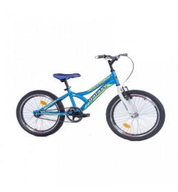 Dečiji bicikl Casper 200 20in 1 kontra plava-neon žuta