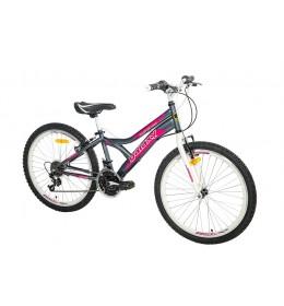 Dečiji bicikl CASPER 240 24in18 sivi