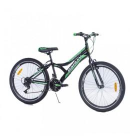 Dečiji bicikl Casper 240 24in 18 crno-zeleni