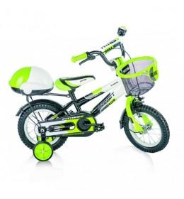 """Dečija bicikla 16"""" Fitness Crno Zeleni"""