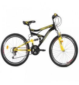 Dečiji bicikl FOCUS 400 24inc 18 crno-žuti
