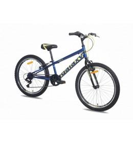 Dečiji bicikl FOX 4.0  24inch 7 plava žuta