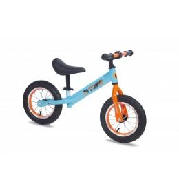 Dečiji bicikl guralica 12 inc srebrno plavo narandžasta