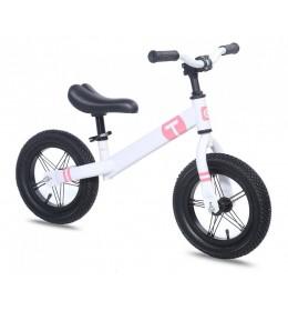 Dečiji bicikl guralica Balance 12 bela-roza