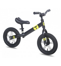 Dečiji bicikl guralica Balance 12 crna-žuta