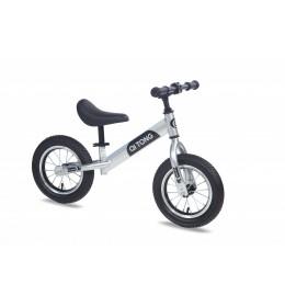 Dečiji bicikl guralica Balance 12 srebrno crna