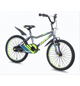Dečiji bicikl Jumper 20 siva zelena