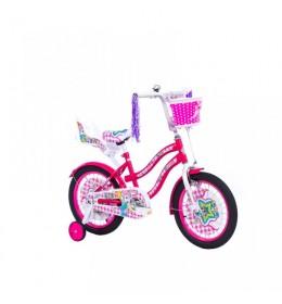 Dečiji bicikl Lilly 16in rozo-beli