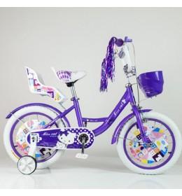 "Dečiji bicikl Miss Cat 16"" Ljubučasti"