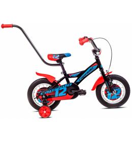 Dečiji Bicikl Mustang 12 Crna i Crvena