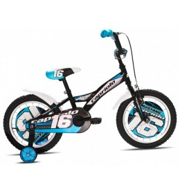 Dečiji Bicikl Mustang 16 Crna i Bela i Plava