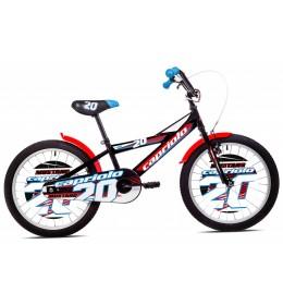 Dečiji Bicikl Mustang 20 Crna i Crvena
