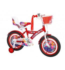 Dečiji bicikl Princess 16in crveno-beli