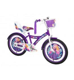 Dečiji bicikl Princess 20in ljubičasto-beli