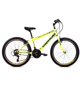 Dečiji bicikl Rapid 24 neon žuto