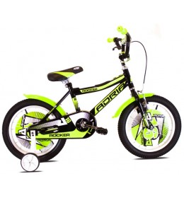Dečiji Bicikl Rocker 16'' Crna i Zelena