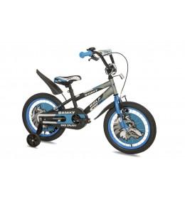 Dečiji bicikl Wolf 16in crna-siva-plava