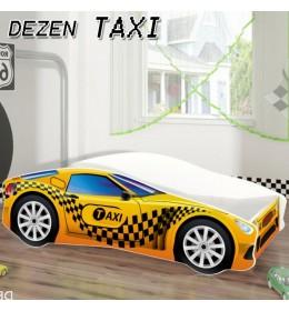 Dečiji Krevet Auto 160x80 cm Dezen Taxi