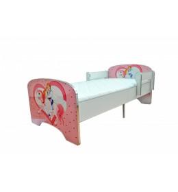 Krevet za decu Pink Princess 160x80 cm model 804