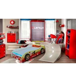 Krevet za decu Formula 88 crvena 160x80 cm model 802