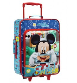 Dečiji putni kofer 50 cm Mickey Smile 24.290.51