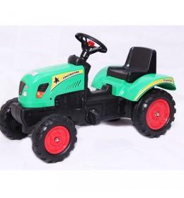 Dečiji traktor na pedale 02 zeleni