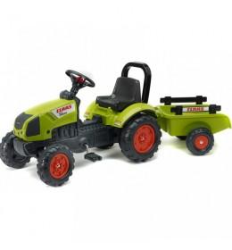 Dečiji traktor na pedale Falk Arion 410 sa prikolicom