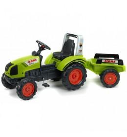 Dečiji traktor na pedale Falk Class 430 sa prikolicom