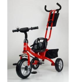 Dečiji tricikl 432 sa točkovima od Eva pene - Crvena