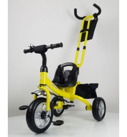 Dečiji tricikl 432 sa točkovima od Eva pene - Žuta