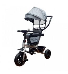 Dečiji tricikl little 415-1 sivi
