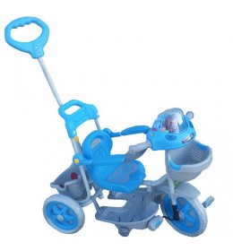 Dečiji tricikl plavo sivi