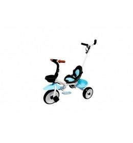 Dečiji tricikl sa ručicom za guranje model 429 Plavi