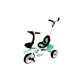 Dečiji tricikl sa ručicom za guranje model 429 Zeleni