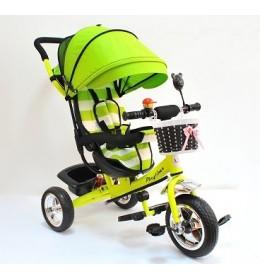 Dečiji tricikl sa tendom model 406 Zeleni