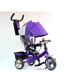 Dečiji tricikl sa tendom model 407 ljubičasti