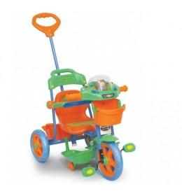 Dečiji tricikl zeleno narandžasti