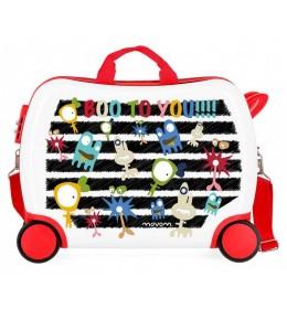 Dečji ABS kofer za vožnju Boo To You! Movom