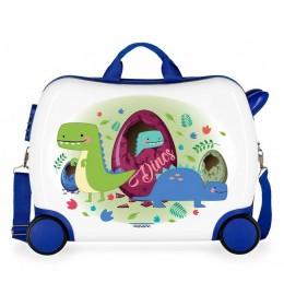 Dečji ABS kofer za vožnju Dinos Movom