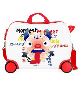 Dečji ABS kofer za vožnju Monster Movom